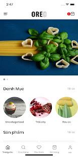 Organic Food - Mẫu app bán hàng Mona Media for PC-Windows 7,8,10 and Mac apk screenshot 1