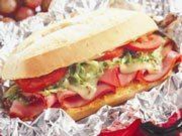 Hot Ham And Swiss Cheese Subs Recipe