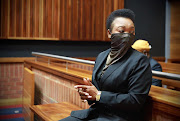 Deputy national commissioner Lt-Gen Bonang Mgwenya in the Palm Ridge magistrate's court in October, where she faced charges of corruption, fraud and money laundering.