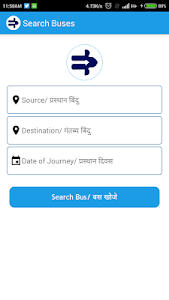 RSRTC Bus Ticket Booking screenshot 3