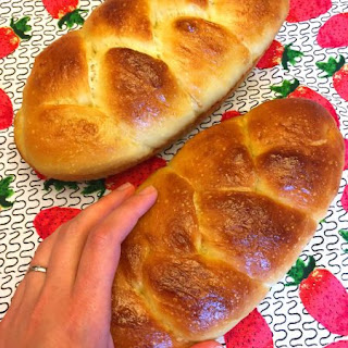 Best Ever Challah Bread.