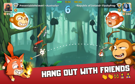 Critter Clash: Monkey Slingshot Battle Game image | 13