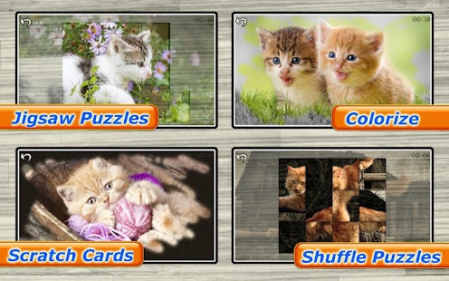 Cats & Kitten Kids Puzzle Game- screenshot thumbnail