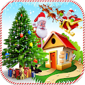 Christmas Puzzle Games Pack - Happy Holiday icon