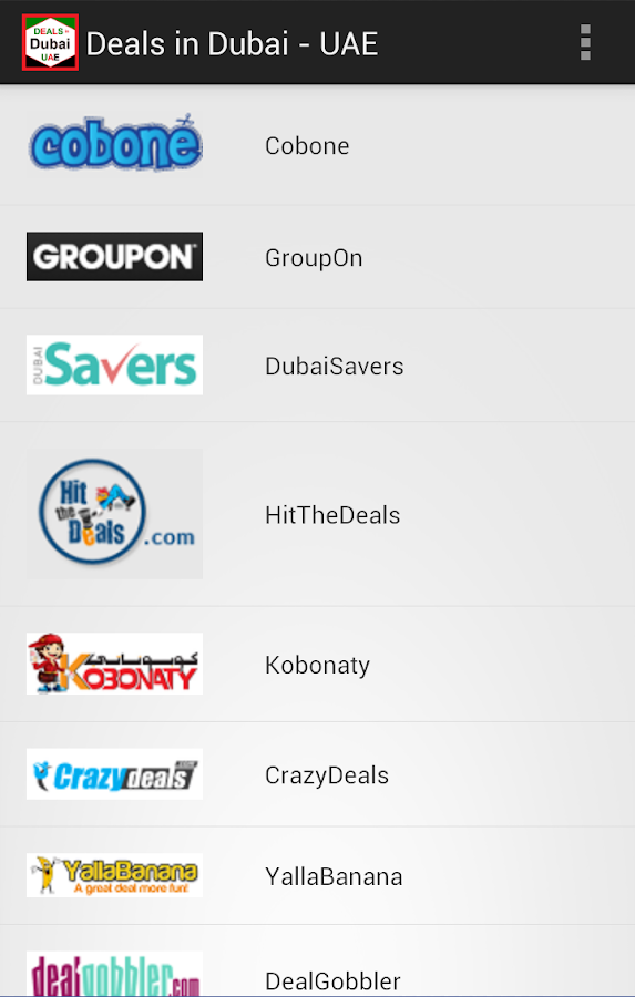 Deals in Dubai - UAE- screenshot