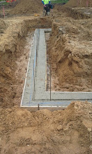 Photo: Concrete with rebar 05-16-14