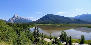Vermilion Lakes and Sulphur Mountain