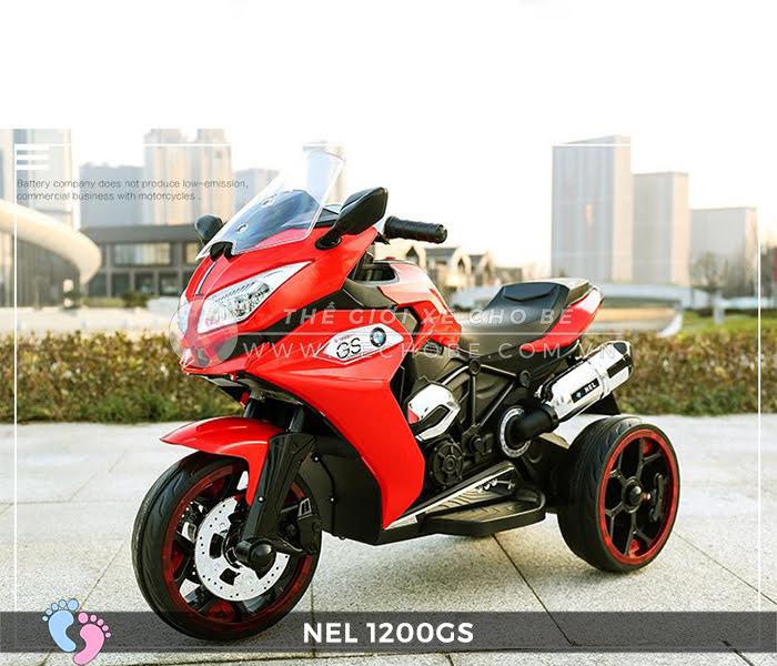 Moto điện 3 bánh cho bé NEL-1200GS 12