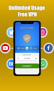 Hot VPN Hotspot -Free unlimited vpn Master 6