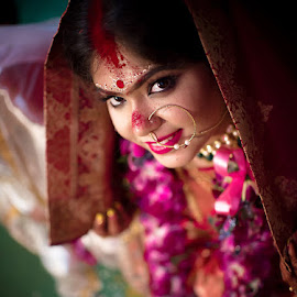 Sindor Portrait 2 by Pranab Sarkar - Wedding Bride ( bride, beautiful, bengali, wedding, portrait, indian wedding, indian )