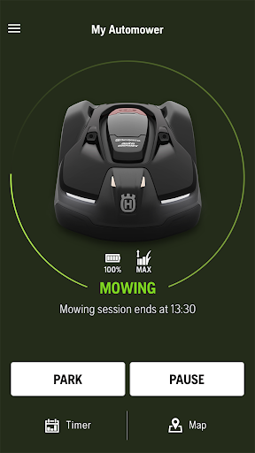 Automower Connect screenshot 1