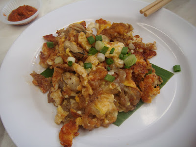 Fried Oyster New World Penang @ Song About Jen