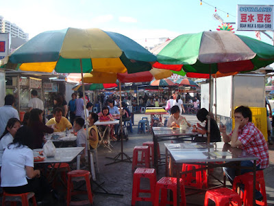 Penang Gurney Drive Hawker Stall@ Song About Jen
