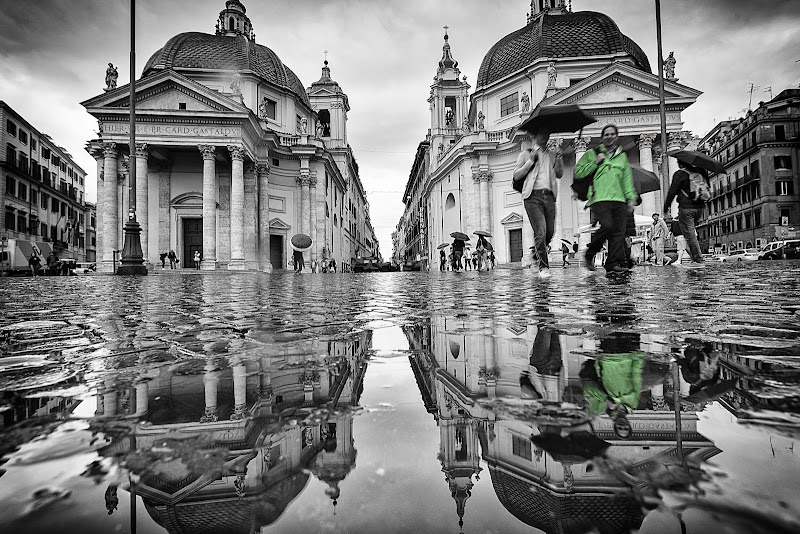 The Twin Churches, Rome di davide fantasia