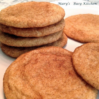 GF Snickerdoodles – Dairy and Egg Free Options Recipe