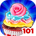 Cupcake Maker: Food Chef Game icon