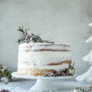 White Christmas Sparkle Cake Recipe