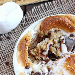 S'more Baked Oatmeal.