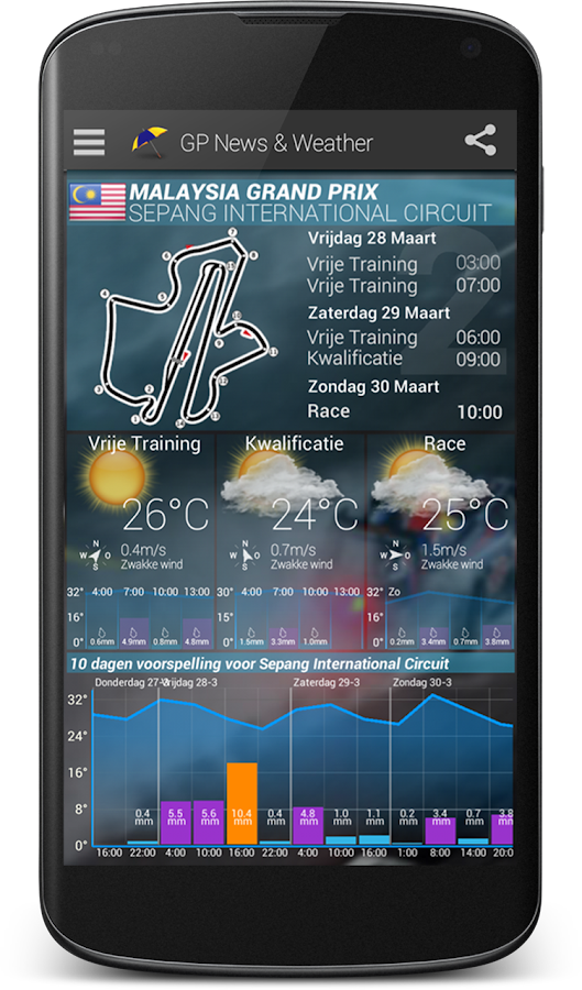 GP News & Weather AdFree 2017- screenshot