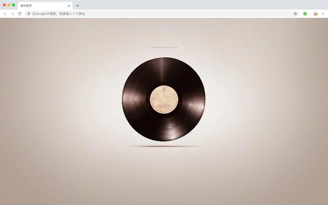 Sound Recorder New Tab HD Hot Music Theme
