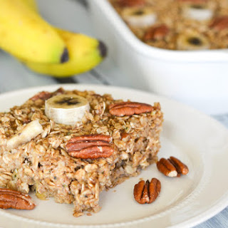 Chai Spiced Banana Bread Baked Oatmeal Recipe