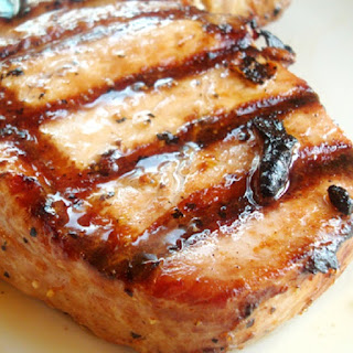 Oven Grilled Pork Steaks.