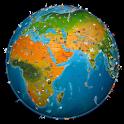 world map atlas 2021 icon