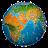 world map atlas 2020 logo
