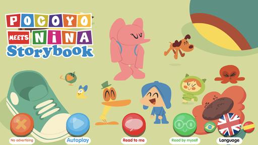Pocoyo meets Nina - Storybook Apk 1