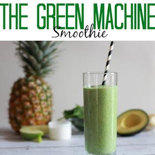 Green Machine Smoothie.