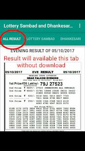 L.S- Lottery Sambad & Dhankesari Result - náhled