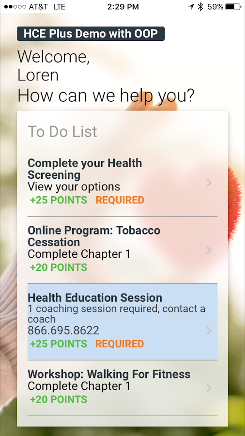 Health Advocate- screenshot