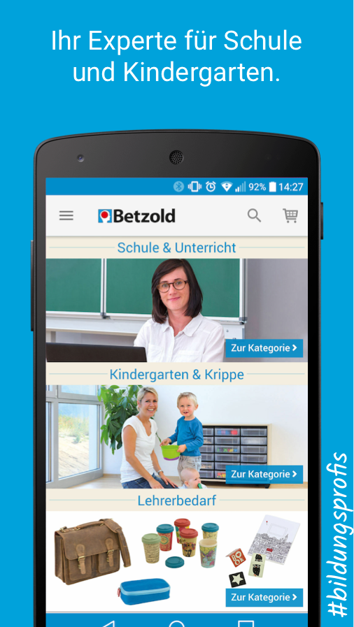 Betzold Schule & Kindergarten- screenshot