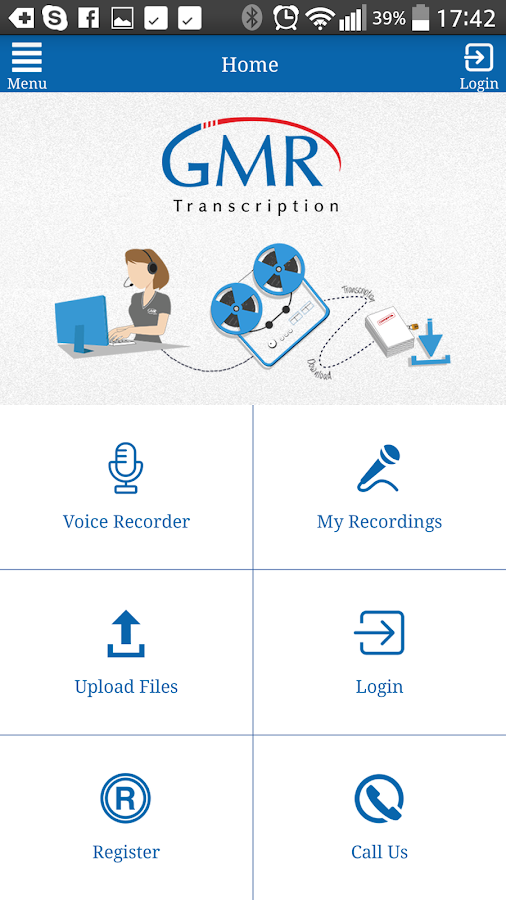 Easy2Transcribe- screenshot