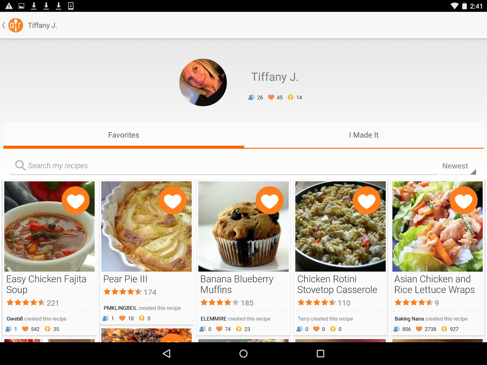 Allrecipes Dinner Spinner screenshot #10