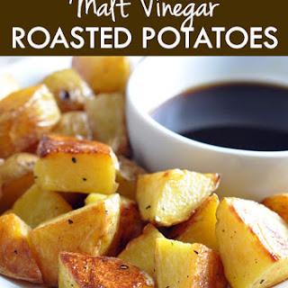 Malt Vinegar Roasted Potatoes