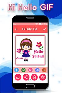 Hi Hello GIF for PC-Windows 7,8,10 and Mac apk screenshot 5