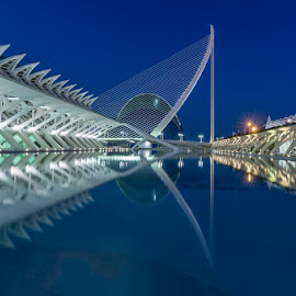 Night time Reflections by Jo Sowden - Buildings & Architecture Other Exteriors