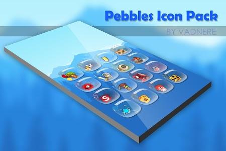 Pebbles Icon Pack Theme v1.0.0
