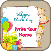 Name on Birthday Card