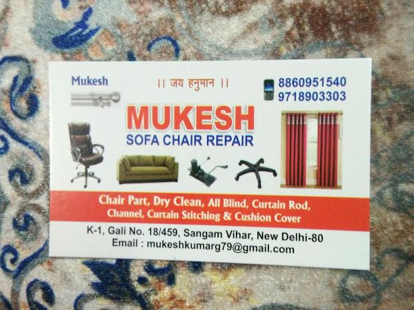 Mukesh Sofa Chair Repair