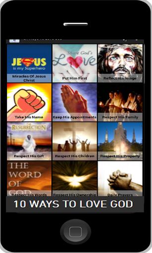 Ten Ways To Love God