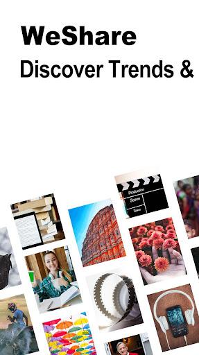 WeShare - Discover & Share Movies, Music, Photos 2.0.78 screenshots 1