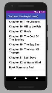 Charlotte's Web - English Novel - náhled