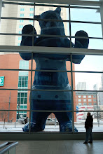"Photo: The ""I See What You Mean"" Blue Bear"