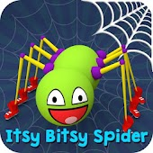 Itsy Bitsy Spider - Best 3D Nursery Rhyme & Poem