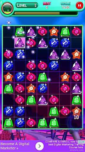 Code Triche Jewels Match Master APK MOD screenshots 5