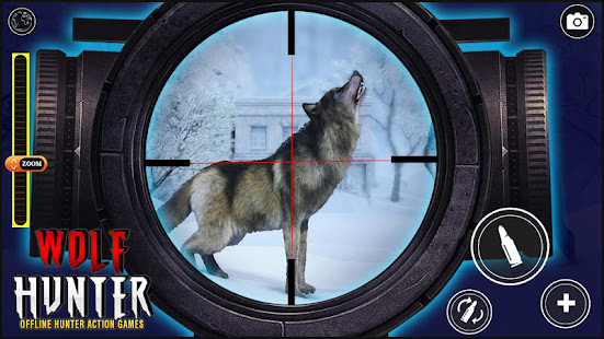 Wolf Hunter 2020: Offline Hunter Action Games 2020 for PC-Windows 7,8,10 and Mac apk screenshot 5