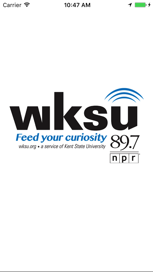 WKSU- screenshot
