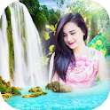 Waterfall Photo Frames Beauty Image Editor icon